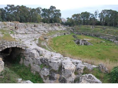 Roman Amphitheatre, Siracusa