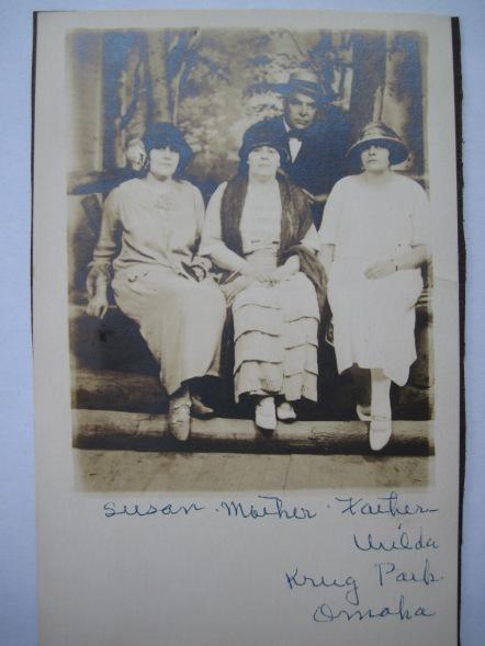 Susan, Katie, Fred and Urilda - Krug Park, MI