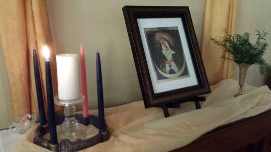 Advent Wreath Rector's Altar