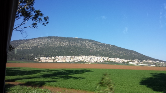 Mt. Tabor Rising from the Plain of Jezreel