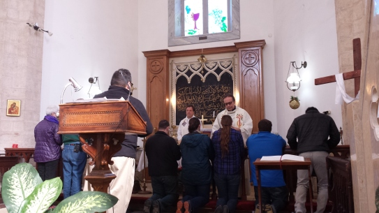 Communion at Christ Church