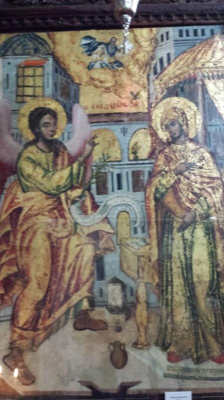 Fresco of the Annunciation