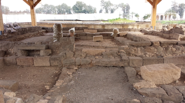 The first century synagogue of ancient Magdala
