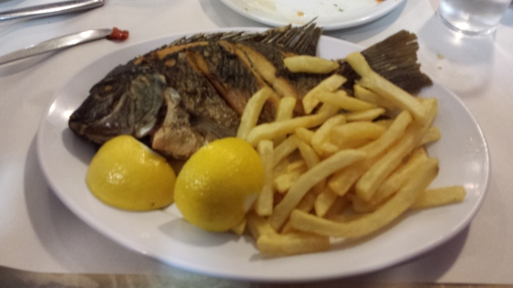 Peter's Fish from the Sea of Galilee