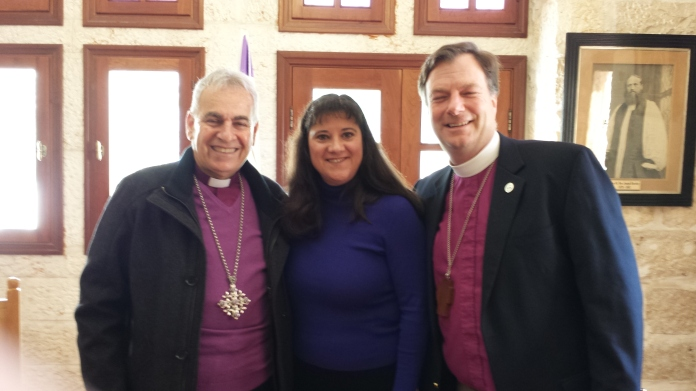 Bishop Greg and Marti with Archbishop Sulheil.