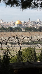 A view of Jerusalem - a city with many barriers to peace