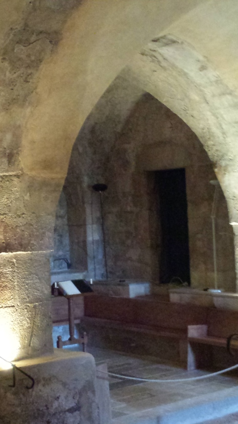 Chapel under croft