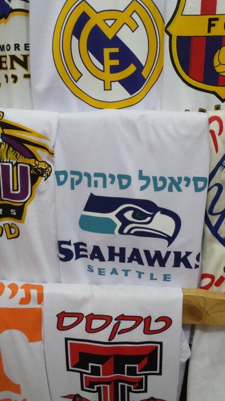 From Jerusalem - Go Hawks!