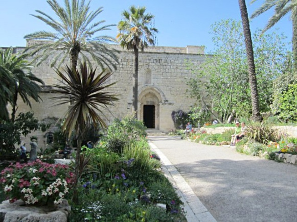 Crusader church in Abu Ghosh