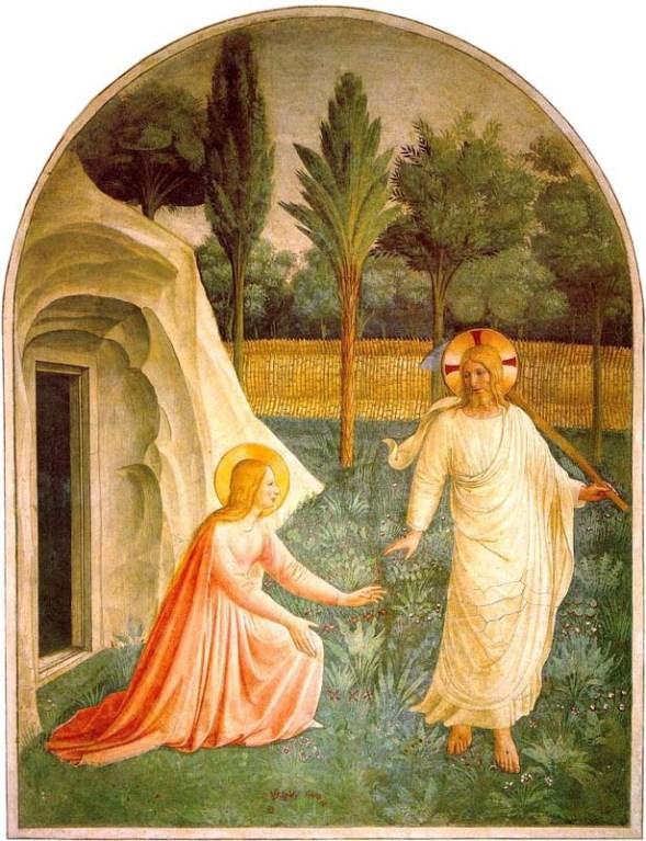 Angelico - Magdelene & Jesus in Garden