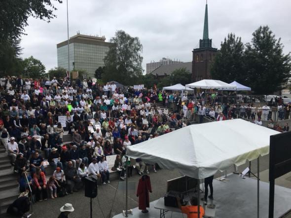 Families Belong Together, Everett, June 20, 2018