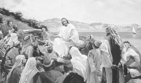Jesus Teaching at Galilee 3